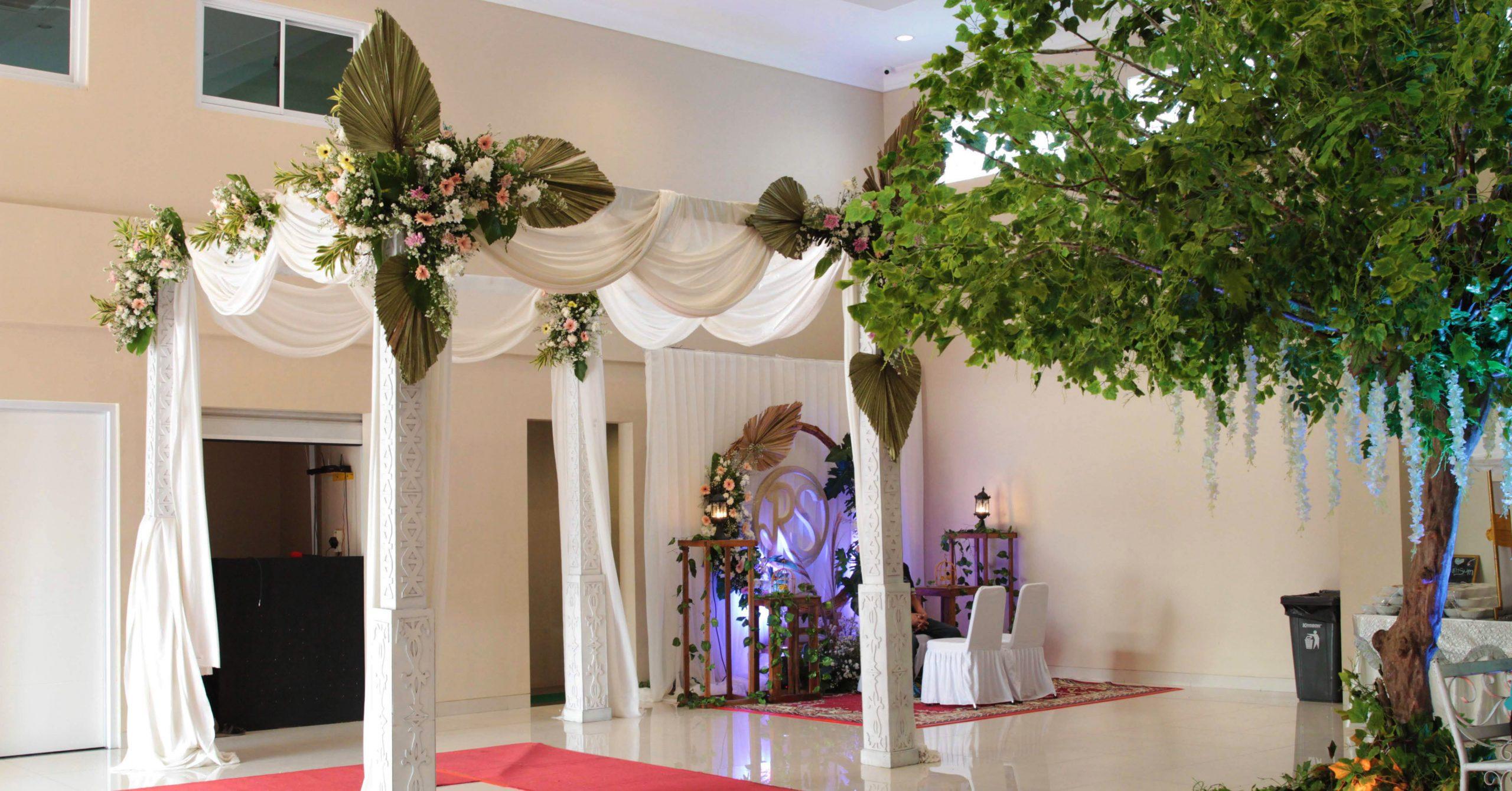 Dekorasi Gedung Pernikahan Bekasi Grand Karunia Function Hall
