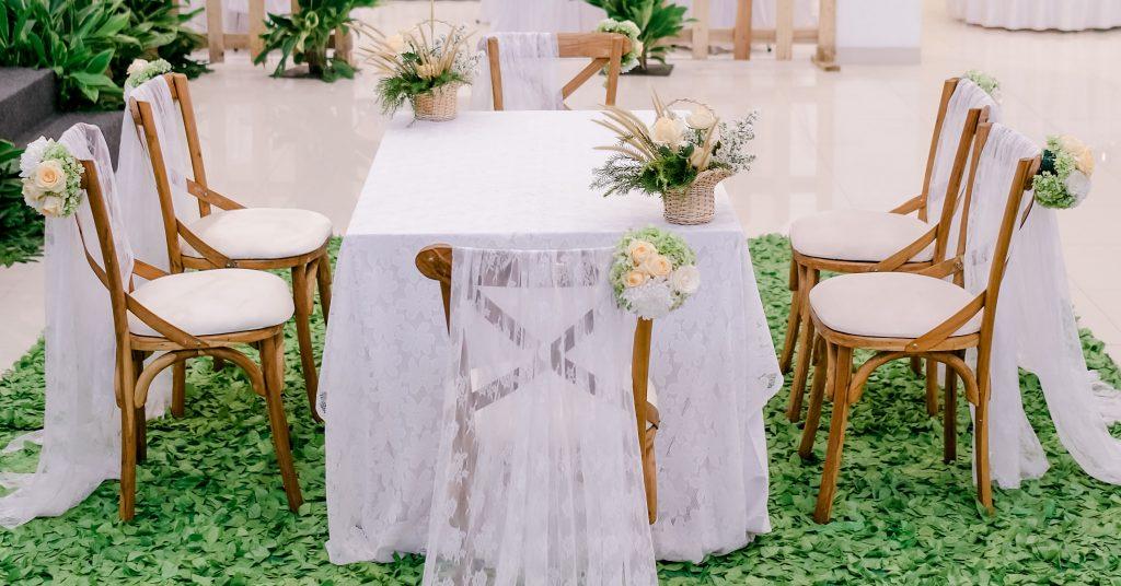 meja akad gedung pernikahan bekasi grand karunia function hall