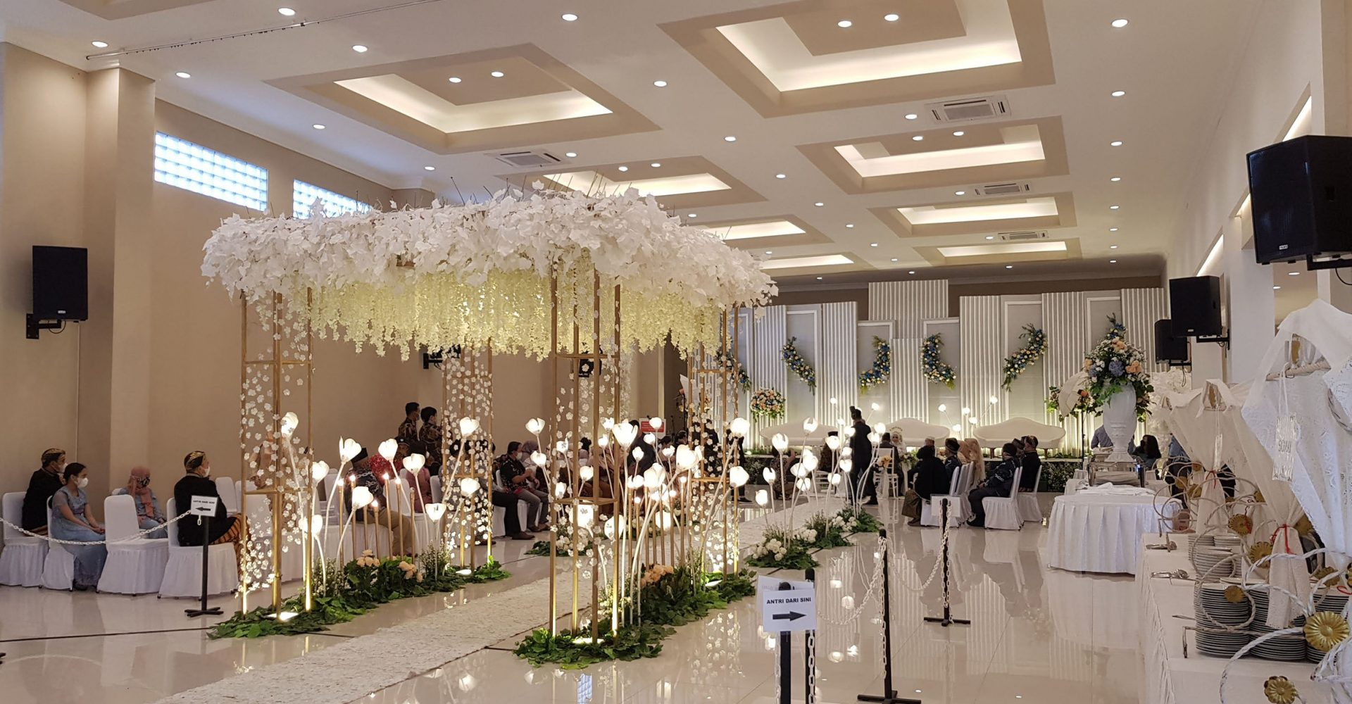Paket Wedding Bekasi Gedung Grand Karunia Function Hall Bekasi